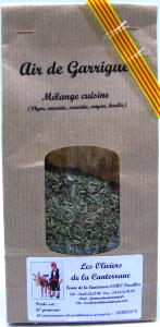 Air de garrigue sachet 50gr