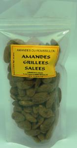 amandes du roussillon amandes grill es sal es sachet 125g. Black Bedroom Furniture Sets. Home Design Ideas