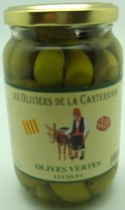 Olives vertes Lucques
