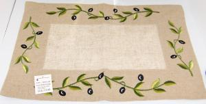 Linge De Maison Set De Table Brod Olives