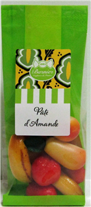 Pâte d'amande mini-fruits sachet 100gr