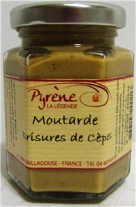 Moutarde cèpes