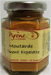 Moutarde piment d'Espelette