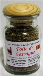 Pot Verre Folie de Garrigue 90gr