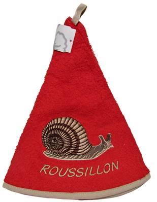 EM rond escargot rouge Roussillon