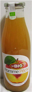 Jus multifruits pêche pomme BIO 75cl