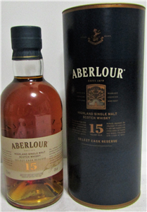 Aberlour Single malt 15 ans