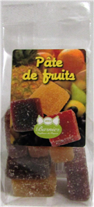 Pâte de fruits sachet 80gr