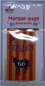 Marque page âne pays Catalan