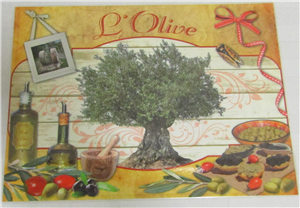 Set de table PVC l'olive