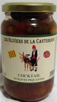 Cocktail d'olives piquantes 200gr