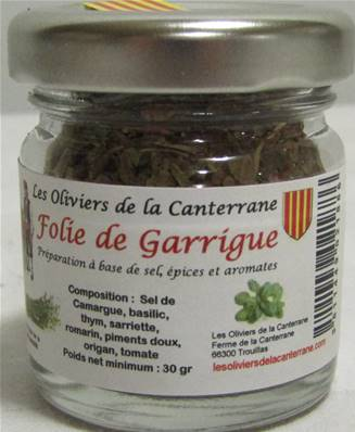Sel Folie de Garrigue pot 40ml environ 30gr
