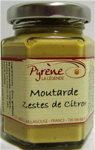 Moutarde zeste de citron